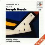 Haydn: Divertimenti, Nos. 7-9