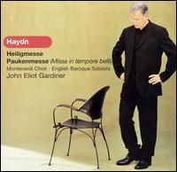 Haydn: Heiligmesse; Paukenmesse - Angharad Gruffydd Jones (soprano); Brindley Sherratt (bass); Elinor Carter (alto); English Baroque Soloists;...