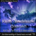 Haydn, Mendelssohn: Piano Trio, No. 44 in E Hob XV:28