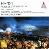 Haydn: Missa in Tempore Belli; Salve Regina - Dorothea Röschmann (soprano); Elisabeth von Magnus (vocals); Herbert Lippert (tenor); Oliver Widmer (baritone);...