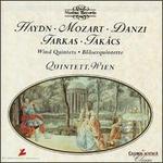 Haydn, Mozart, Danzi, Farkas, Takás: Bläserquintette