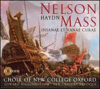 Haydn: Nelson Mass; Insanae et Vanae Curae - Hugh Cutting (alto); Jonty Ward (treble); Nick Pritchard (tenor); Tom Edwards (bass);...