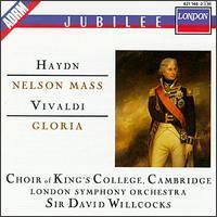 Haydn: Nelson Mass; Vivaldi: Gloria in D major, RV589 - Andrew Davis (harpsichord); Elizabeth Vaughan (soprano); Helen Watts (contralto); Janet Baker (contralto);...