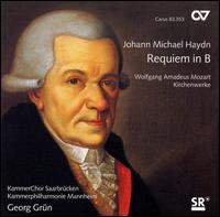 Haydn: Requiem in B [SACD] - Jens Hamann (bass); Julian Prégardien (tenor); Lydia Teuscher (soprano); Manami Kusano (alto);...