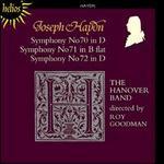 Haydn: Symphonies Nos. 70-72