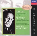 Haydn: Symphonies Nos. 94 & 101; Brahms: Haydn Variations