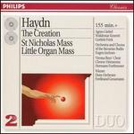 Haydn: The Creation; Missa Bervis Sti; Missa Sti Nicolai