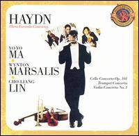 Haydn: The Favorite Concertos - Cho-Liang Lin (violin); Emanuel Ax (piano); Wynton Marsalis (trumpet); Yo-Yo Ma (cello)