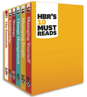 Hbr's 10 Must Reads Boxed Set (6 Books) (Hbr's 10 Must Reads) - Review, Harvard Business, and Drucker, Peter F, and Christensen, Clayton M