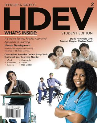 Hdev 2 (with Coursemate Printed Access Card) - Rathus, Spencer A