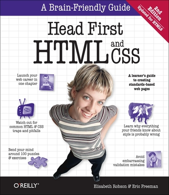 Head First: HTML and CSS - Robson, Elisabeth