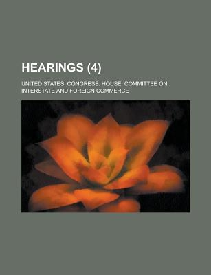 Hearings (4) - Commerce, United States Congress