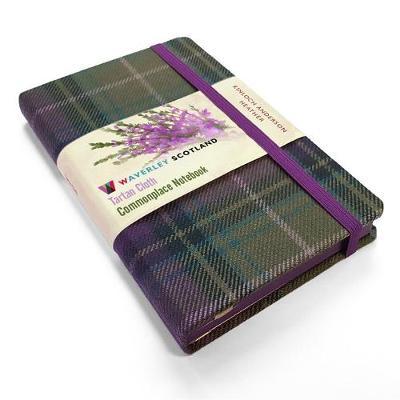 Heather Tartan: Pocket: 14 x 9cm: Scottish Traditions: Waverley Genuine Tartan Cloth Commonplace Notebook -