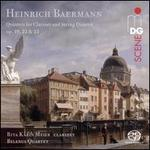 Heinrich Baermann: Quintets for Clarinet and String Quartet, Opp. 19, 22 & 23
