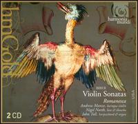Heinrich Ignaz Franz von Biber: Violin Sonatas - Andrew Manze (baroque violin); Nigel North (lute); Romanesca