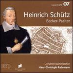 Heinrich Schütz: Becker-Psalter