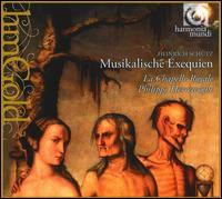 Heinrich Schütz: Musikalische Exequien - Ageet Zweistra (cello); Agnès Mellon (soprano); Greta de Reyghère (soprano); Hervé Lamy (tenor); Howard Crook (alto);...