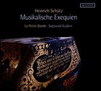 Heinrich Schütz: Musikalische Exequien - Daniel Schreiber (tenor); Daniel Schreiber (alto); Gerlinde Sämann (soprano); Jens Hamann (bass); Knut Schoch (tenor);...