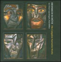 Heinrich Schütz: The Complete Narrative Works - Adam Riis (tenor); Else Torp (soprano); Jakob Bloch Jespersen (bass); Johan Linderoth (tenor); Julian Podger (tenor);...