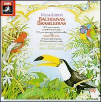 Heitor Villa-Lobos: Bachianas Brasileiras - Albert Tetard (cello); Andre Sennedat (bassoon); Mady Mespl� (soprano); Michel Debost (flute); Orchestre de Paris;...
