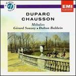 Henri Duparc, Ernest Chausson: Mélodies