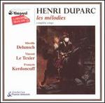 Henri Duparc: The Complete Songs