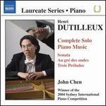 Henri Dutilleux: Complete Solo Piano Music