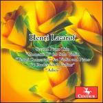 Henri Lazarof: Second Piano Trio; Momenti II; Tempi Concertati; 4 Etudes for 2 Violins; Adeu