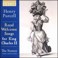 Henry Purcell: Royal Welcome Songs for King Charles II - Ben Davies (bass); Daniel Collins (alto); George Pooley (tenor); Grace Davidson (soprano); Jeremy Budd (tenor);...
