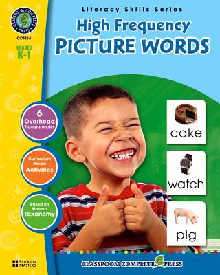 High-Frequency Picture Words, Grades K-1 - Marck, Staci