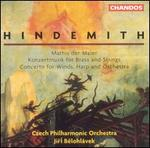 Hindemith: Mathis der Maler; Konzertmusik for Brass & Strings