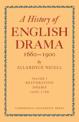 shakespeare nicoll allardyce