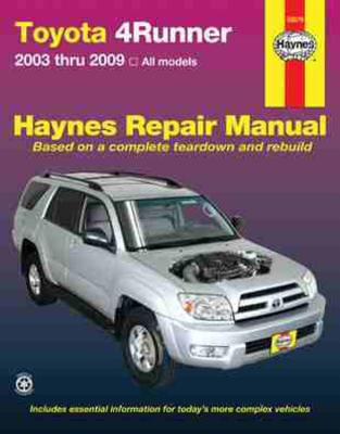HM Toyota 4 Runner 2003-2009 - Haynes, John (Editor)