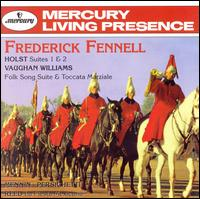 Holst: Suites; Vaughan Williams: Folk Song Suite; Reed: La Fiesta Mexicana - Eastman Wind Ensemble; Frederick Fennell (conductor)