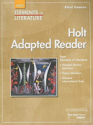 Holt Adapted Reader, First Course - Holt Rinehart & Winston (Creator)