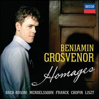 Homages - Benjamin Grosvenor (piano)