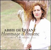 Hommage à Poulenc - Abbie de Quant (flute); Elizabeth van Malde (piano)