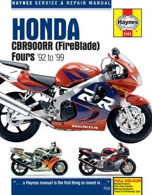 Honda CBR900RR Service and Repair Manual - Haynes, John