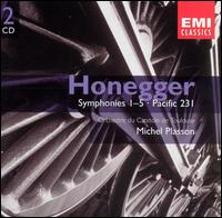 Honegger: Symphonies Nos. 1-5; Pacific 231 - Calvin Sieb (violin); Jean-Louis Hardy (cello); Lucien Morul (viola); Yan Pascal Tortelier (violin);...