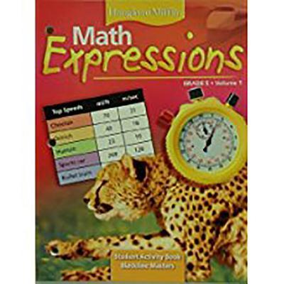 Houghton Mifflin Math Expressions Grade 5 (Student Activity Book, Volume 1) - Dr. Karen C. Fuson