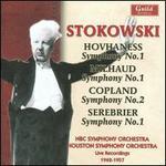 Hovhaness, Milhaud, Copland, Serebrier: Symphonies