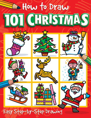 How to Draw 101 Christmas - Green, Barry