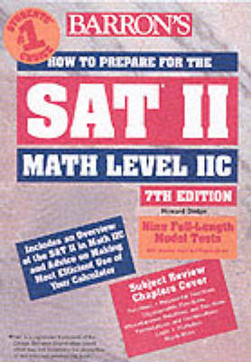 How to Prepare for the SAT II Math Level 11c - Dodge, Howard P, and Ku, Richard
