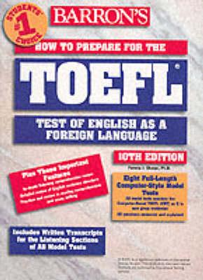 How to Prepare for the TOEFL - Sharpe, Pamela, PhD