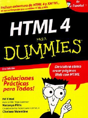 HTML 4 Para Dummies - Tittel, Ed