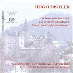 Hugo Distler: Schauspielmusik zu Ritter Blaubart; Concerto für Cembalo und Streicher