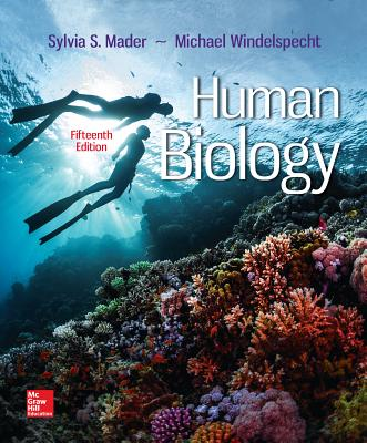 Human biology book by sylvia s mader 36 available editions human biology mader sylvia s dr and windelspecht michael fandeluxe Gallery