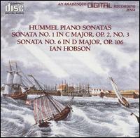Hummel: Piano Sonatas, Vol. 1 - Ian Hobson (piano)