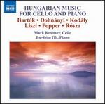 Hungarian Music for Cello and Piano
