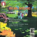 Hurlstone: Trio in G; Adagio; Quartet in E minor - Dussek Piano Trio; James Boyd (viola); Margaret Powell (cello); Michael Dussek (piano)